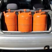 Gasflaschen sicher transportieren
